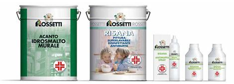 Risana rossetti for Rossetti vernici e idee